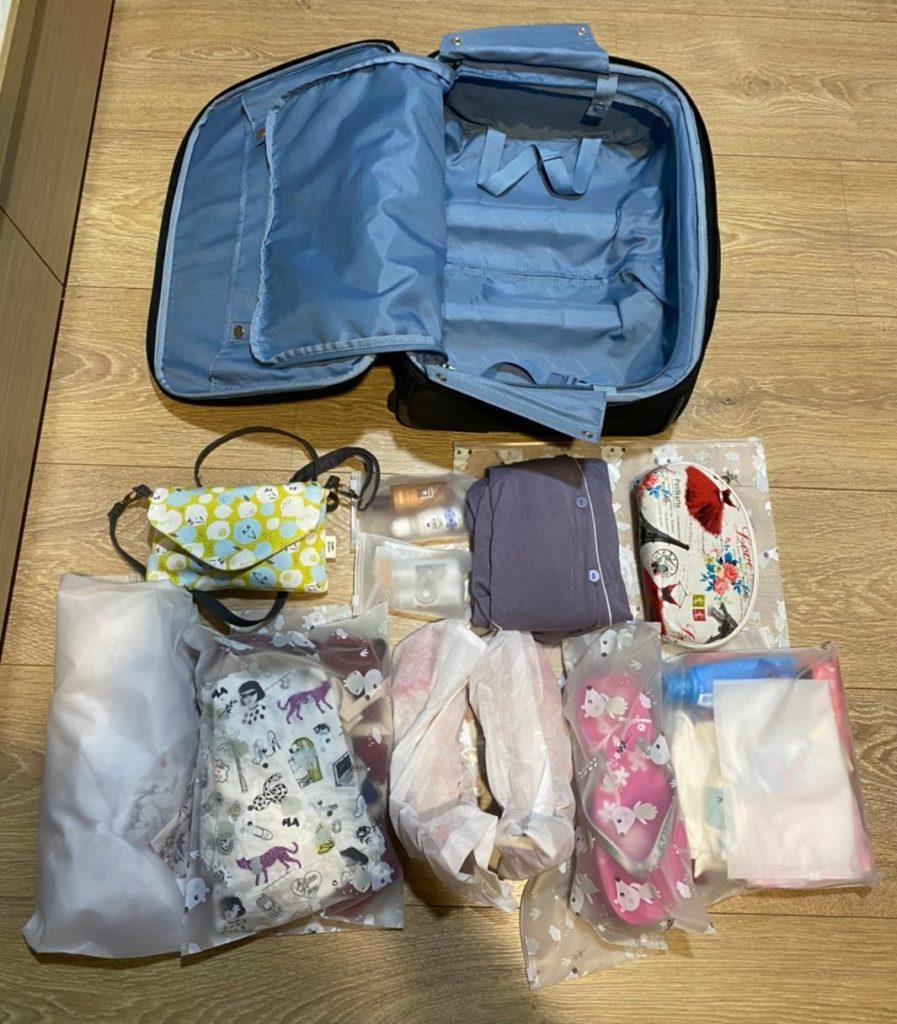 行李收納懶人包 9