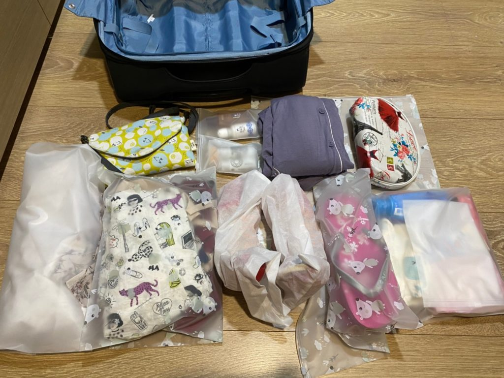 行李收納懶人包 2