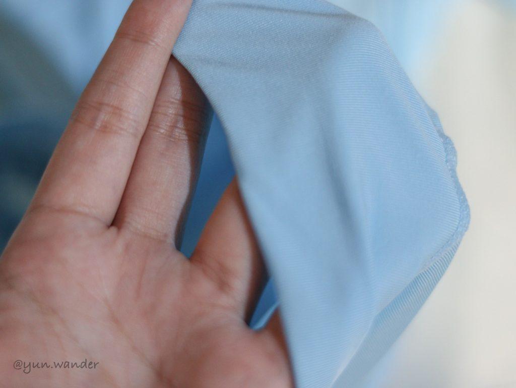 wiwi冰涼護膚外套材質