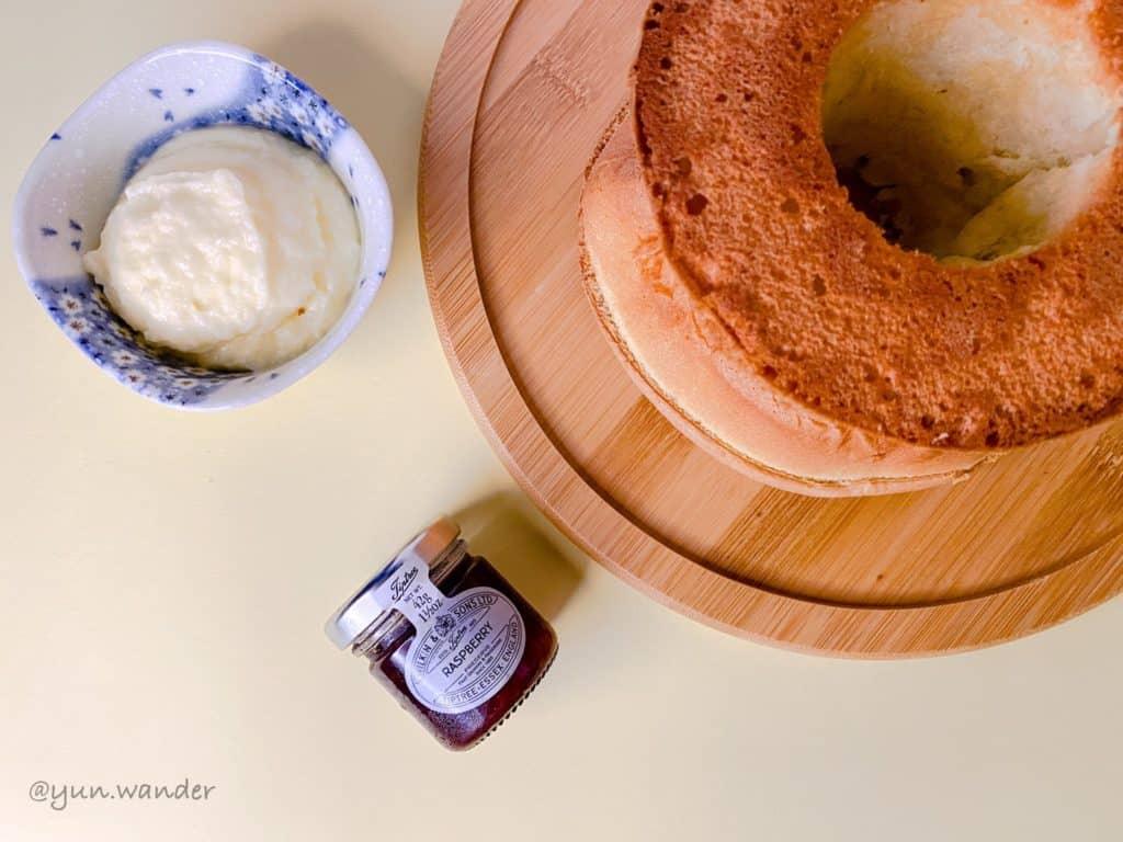 戚風蛋糕製作